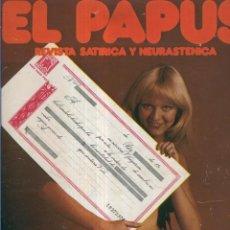 Coleccionismo de Revistas y Periódicos: EL PAPUS. REVISTA DE HUMOR NMERO 066. YA EMPEZ EL AO. Lote 55642941