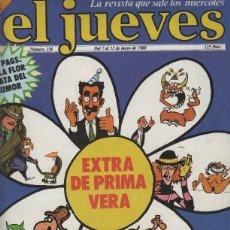 Coleccionismo de Revistas y Periódicos: EL JUEVES NUMERO 154 - PEGATINAS DE EL JUEVES. Lote 57622581