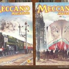 Coleccionismo de Revistas y Periódicos: 7695 - LOTE DE MECANO MAGAZINE. 102 EJEM. (VER DESCRIP). IMP. JOHN WADDINGTON. 1952-1960.. Lote 57626393