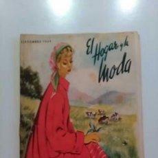 Coleccionismo de Revistas y Periódicos: REVISTA EL HOGAR Y LA MODA. SEPTIEMBRE 1949. Lote 57657507