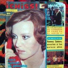 Coleccionismo de Revistas y Periódicos: REVISTA CHISS / JUAN PARDO, ENRIQUE Y ANA POSTER, BONANZA, CONCHA VELASCO, ROLLING STONES, CANTUDO. Lote 57694023