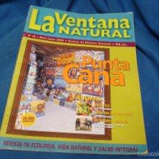 Coleccionismo de Revistas y Periódicos: LA VENTANA NATURAL Nº 18 - ABRIL - JUNIO 2000. Lote 57715097