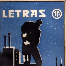 Coleccionismo de Revistas y Periódicos: LETRAS REVISTA LITERARIA POPULAR, Nº 25 JULIO 1939. Lote 57719416