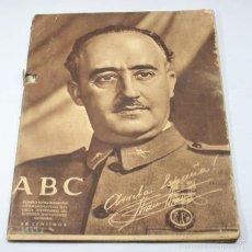 Coleccionismo de Revistas y Periódicos: ABC NUMERO EXTRAORDINARIO CONMEMORATIVO DEL TERCER ANIVERSARIO... FRANCSICO FRANCO 1939. Lote 57736239