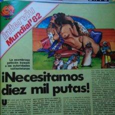 Coleccionismo de Revistas y Periódicos: RECORTE MUNDIAL 82 NARANJITO INTERVIU . Lote 57811341