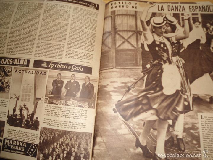 Coleccionismo de Revistas y Periódicos: ANTIGUA REVISTA SEMANA - 1943 - NUM 192 - SEGUNDA GUERRA MUNDIAL - Foto 2 - 57813715