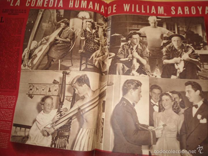 Coleccionismo de Revistas y Periódicos: ANTIGUA REVISTA SEMANA - 1943 - NUM 192 - SEGUNDA GUERRA MUNDIAL - Foto 3 - 57813715