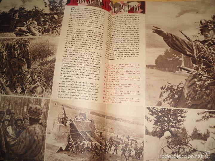 Coleccionismo de Revistas y Periódicos: ANTIGUA REVISTA SEMANA - 1943 - NUM 192 - SEGUNDA GUERRA MUNDIAL - Foto 4 - 57813715