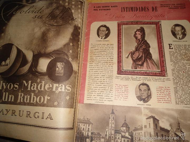 Coleccionismo de Revistas y Periódicos: ANTIGUA REVISTA SEMANA - 1943 - NUM 192 - SEGUNDA GUERRA MUNDIAL - Foto 5 - 57813715