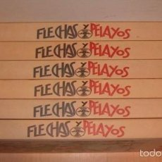 Coleccionismo de Revistas y Periódicos: VV. AA. FLECHAS Y PELAYOS. EDICIÓN FACSIMILAR. SEIS TOMOS. RM75449. . Lote 57833562