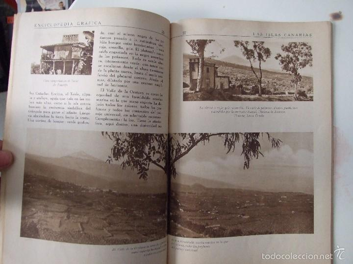 Coleccionismo de Revistas y Periódicos: ENCICLOPEDIA GRAFICA CANARIAS -EDITORIAL CERVANTES -1930- - Foto 2 - 57834033