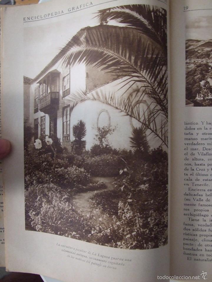 Coleccionismo de Revistas y Periódicos: ENCICLOPEDIA GRAFICA CANARIAS -EDITORIAL CERVANTES -1930- - Foto 3 - 57834033