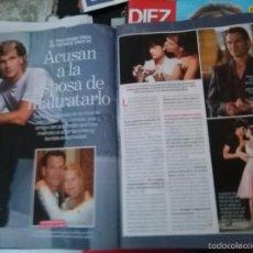 Coleccionismo de Revistas y Periódicos: RECORTE PATRICK SWAYZE DIRTY DANCING GHOST . Lote 57841190