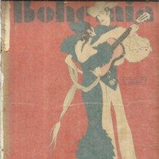 Coleccionismo de Revistas y Periódicos: REVISTA BOHEMIA. Nº 16. JUNIO DE 1931 . LA HABANA. CUBA. MANIFESTACIÓN DE LOS SIN TRABAJO.. Lote 57868294