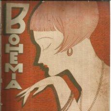 Coleccionismo de Revistas y Periódicos: REVISTA BOHEMIA. Nº 20 . MARZO DE 1928. LA HABANA. CUBA. LA HAZAÑA DE FERRARIN Y DEL PRETE.. Lote 57868318
