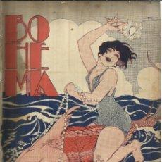 Coleccionismo de Revistas y Periódicos: REVISTA BOHEMIA. Nº 28. JULIO DE 1928. LA HABANA. CUBA. COMANDANTE MADDALENA. MISS AMELITA EARHART.. Lote 57868336