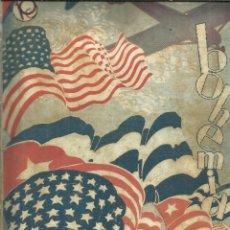 Coleccionismo de Revistas y Periódicos: REVISTA BOHEMIA. NÚMERO 7. FEBRERO. 1928. LA HABANA. CUBA. GENERAL MACHADO. CORONEL LINDBERG. Lote 230775170
