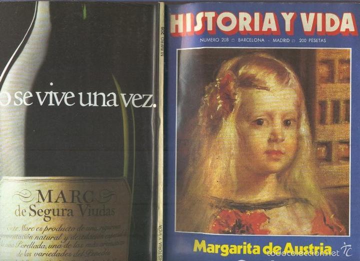 HISTORIA Y VIDA NUMERO 208 : LOS CALIDOS VERANOS DE ESPAA (Coleccionismo - Revistas y Periódicos Modernos (a partir de 1.940) - Otros)