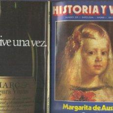 Coleccionismo de Revistas y Periódicos: HISTORIA Y VIDA NUMERO 208 : LOS CALIDOS VERANOS DE ESPAA. Lote 55615949