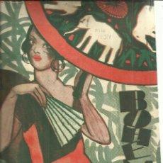 Coleccionismo de Revistas y Periódicos: REVISTA BOHEMIA. Nº 23. JUNIO DE 1927. LA HABANA. CUBA. DOROTHY DEVORE. HARRY MEYERS.. Lote 57904317