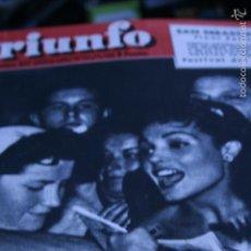 Coleccionismo de Revistas y Periódicos: CARMEN SEVILLA SARA MONTIEL MARIA FELIX 1958. Lote 57913892