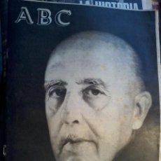 Coleccionismo de Revistas y Periódicos: ABC- FRANCO A MUERTO- AÑO 1975. Lote 57998651