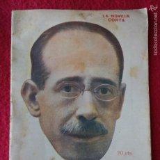 Coleccionismo de Revistas y Periódicos: LA NOVELA CORTA. 1922. Lote 58072496