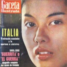 Coleccionismo de Revistas y Periódicos: REVISTA GACETA ILUSTRADA 1962. Lote 58076915