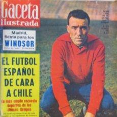 Coleccionismo de Revistas y Periódicos: REVISTA GACETA ILUSTRADA 1962. Lote 58076928