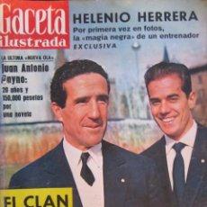 Coleccionismo de Revistas y Periódicos: REVISTA GACETA ILUSTRADA 1962. Lote 58076952