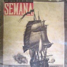 Coleccionismo de Revistas y Periódicos: REVISTA SEMANA 1942. Lote 58077912