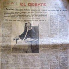Coleccionismo de Revistas y Periódicos: PERIODICO EL DEBATE 1934. Lote 58078454