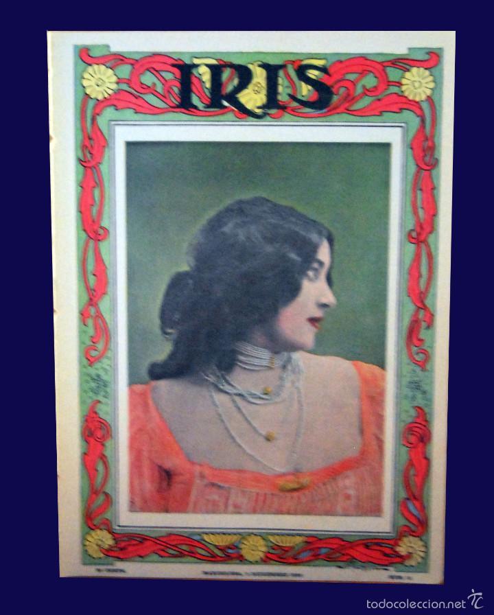 SEVILLA \ PORTUGAL - IRIS - REVISTA SEMANAL ILUSTRADA Nº 31 - 9 DICIEMBRE 1899 (Coleccionismo - Revistas y Periódicos Antiguos (hasta 1.939))
