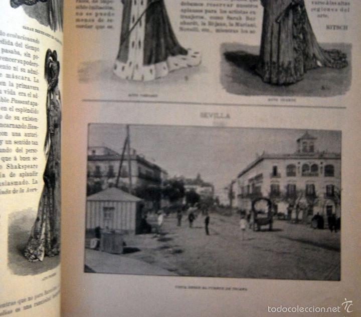 Coleccionismo de Revistas y Periódicos: SEVILLA \ PORTUGAL - IRIS - REVISTA SEMANAL ILUSTRADA Nº 31 - 9 DICIEMBRE 1899 - Foto 3 - 58090314