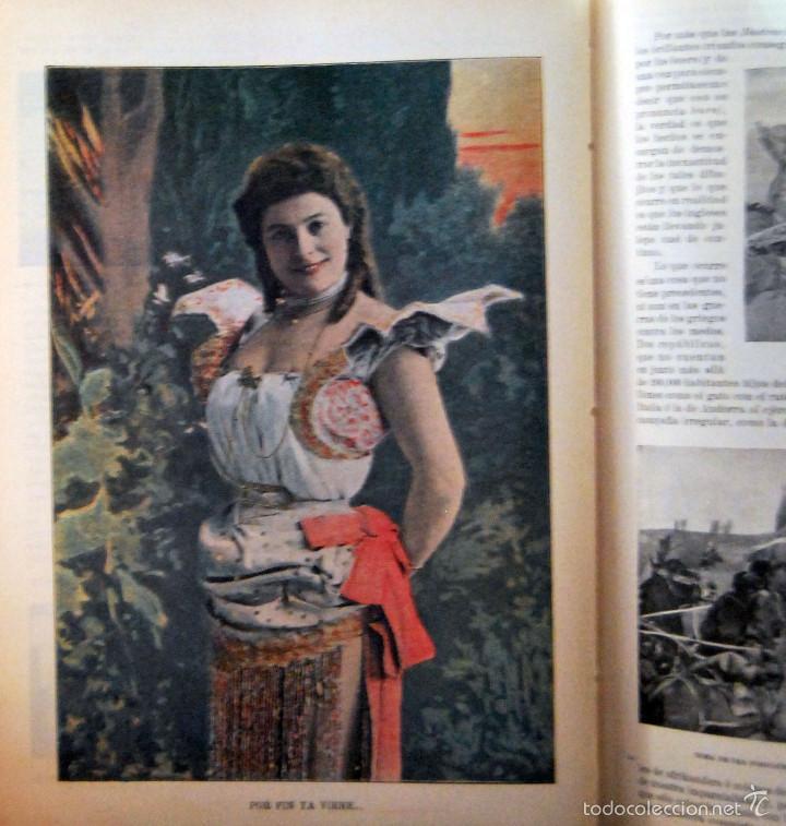 Coleccionismo de Revistas y Periódicos: SEVILLA \ PORTUGAL - IRIS - REVISTA SEMANAL ILUSTRADA Nº 31 - 9 DICIEMBRE 1899 - Foto 6 - 58090314