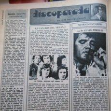 Coleccionismo de Revistas y Periódicos: RECORTE ELVIS PRESLEY LOS PUNTOS. Lote 195145152