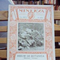 REVISTA MINERVA. VOL. XXVI. JOAQUIM M. DE BARNOLA, S. J.