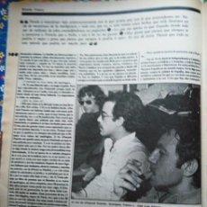 Coleccionismo de Revistas y Periódicos: RECORTE RICARDO FRANCO QUEJERETA. Lote 58115113