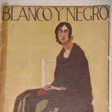 Coleccionismo de Revistas y Periódicos: REVISTA ILUSTRADA BLANCO Y NEGRO DE ABC. 19 FEBRERO 1922.. Lote 58117185