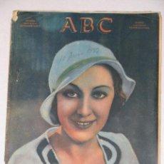 Coleccionismo de Revistas y Periódicos: ABC NUMERO DOMINICAL EXTRAORDINARIO. 10 JUNIO 1933.. Lote 58120264