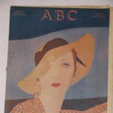 Coleccionismo de Revistas y Periódicos: ABC NUMERO DOMINICAL EXTRAORDINARIO. 3 JUNIO 1933.. Lote 58120329