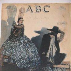 Coleccionismo de Revistas y Periódicos: ABC NUMERO DOMINICAL EXTRAORDINARIO. 27 JUNIO 1931.. Lote 58120989