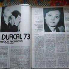 Coleccionismo de Revistas y Periódicos: RECORTE ROCIO DURCAL ANTONIO MORALES JUNIOR . Lote 58122615