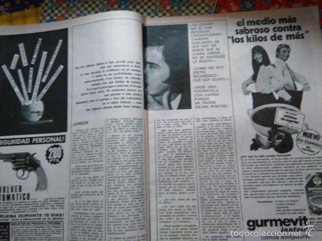 Coleccionismo de Revistas y Periódicos: RECORTE ROCIO DURCAL ANTONIO MORALES JUNIOR - Foto 2 - 58122615