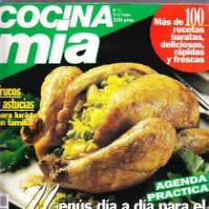 Coleccionismo de Revistas y Periódicos: COCINA MIA Nº 13 EXTRA VERANO 1990. Lote 58132125