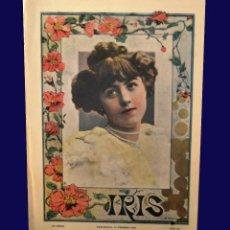 Coleccionismo de Revistas y Periódicos: IRIS - REVISTA SEMANAL ILUSTRADA - 10 FEBRERO 1900 - NÚM. 40 - TEATRO NOVEDADES. Lote 58140637