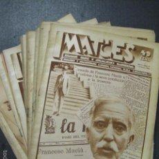 Coleccionismo de Revistas y Periódicos: IMATGES-SETMANARI ACTUALITATS ANY 1930-COMPLETA 25 REVISTAS-MACIA SAMITIER ...-VER FOTOS -(XL-52). Lote 58204891