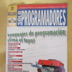 Coleccionismo de Revistas y Periódicos: SOLO PROGRAMADORES - Nº 90. Lote 58207210