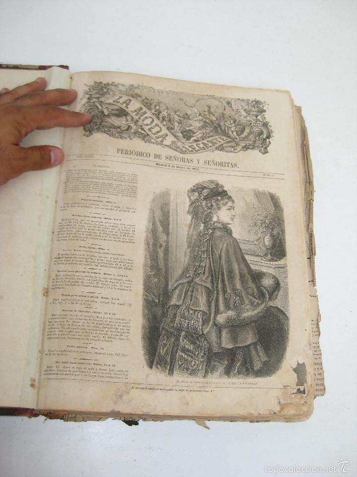 revista antigua 1873 la moda elegante ilustrada - Comprar Revistas y ...