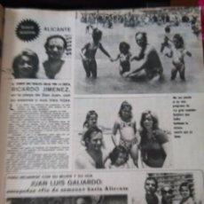 Coleccionismo de Revistas y Periódicos: RECORTE RICARDO JIMENEZ JUAN LUIS GALIARDO. Lote 58244875